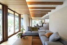 Like real wood trim Home Room Design, Interior Design Kitchen, House Design, Japanese Modern House, Japanese Interior, Muji Home, Tatami Room, Zen House, Contemporary Interior Design