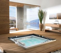 In Floor Bathtub
