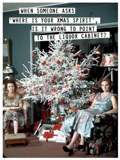 Flocked Christmas Trees and White Christmas Trees, 1954 Don't they look happy! Flocked Christmas Trees, Old Fashioned Christmas, Christmas Past, Christmas Humor, All Things Christmas, Christmas Decorations, Holiday Decor, Tinsel Tree, Christmas Mantles