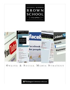 Online and Social Media Strategy Brown School Warren Brown, Digital Marketing, Social Media, School, Social Networks, Social Media Tips