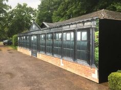 This is a great piece of work demonstrating how effective our decorative hoarding can be at concealing construction or building work. Pavilion, The Locals, Construction, Building, Outdoor Decor, Projects, Prints, Management, Log Projects