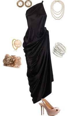 Award show outfit, created by avamoselle on Polyvore