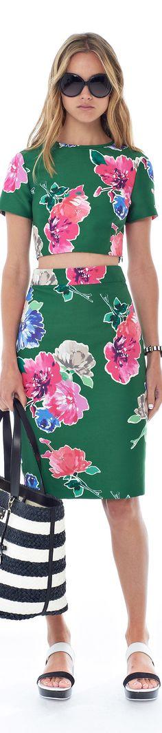 Fleur fashion / karen cox. Kate Spade New York Spring 2015 Ready-to-Wear
