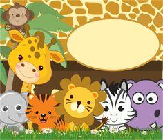 zeynep harikalar diyarında: Safari Temalı Doğum Günü Süsleri
