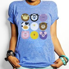 Geek Animals Tee now featured on Fab. [The Cooler Collective]