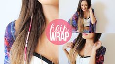 DIY: Summer Hair Wrap | LaurDIY she does a great job of explaining the wrap in a way thats understandable ;)