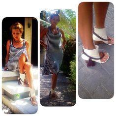 "Alena wearing Annushka shoes. Model ""Milan""."
