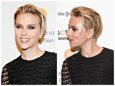 Scarlett Johansson Short Hair Looks even more amazing!