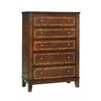 Dawlyn - Burnished Brown - Five Drawer Chest