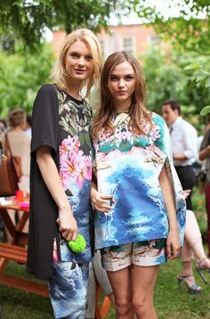 Get a serious blue crush on surf styling this Summer
