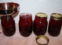 Sugar FREE Canning Options