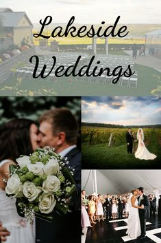 Wedding venues with breathtaking views, lakeside, vineyard side and more. Lake Wedding Venues, Lakeside Wedding, Finger Lakes, Lush, Vineyard, Wedding Planning, Reception, Weddings, Beautiful