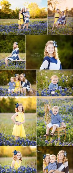 Lovely children session by photographer Holly Davis: Bluebonnet sessions, Posing…