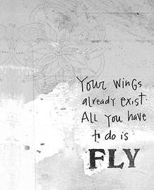 your wings already exist #FLY