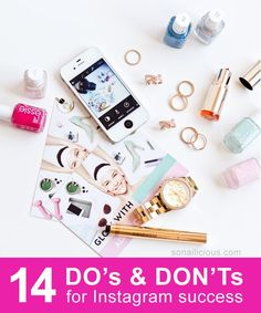 14 DO's and DON'Ts for growing your #Instagram following quickly: http://sonailicious.com/14-dos-donts-instagram-tips/