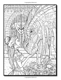Amazon.com: Dragons: An Adult Coloring Book with Fun, Beautiful, and Relaxing Coloring Pages (Perfect Gift for Dragon Lovers) (9781547107858): Jade Summer: Books