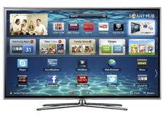 Samsung UE55ES6800 55-inch Widescreen Full HD 1080p 3D Slim LED Smart TV with Dual Core Processor (New for 2012)