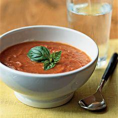 Applebee's Tomato Basil Soup Recipe from fresh tomatoes.