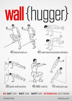 100 Workouts That Don't Require Equipment By Neila Rey. Keep your body fit everywhere. - Funny - Check out: 100 Workouts That Don't Require Equipment on Barnorama Neila Rey Workout, Gym Workout Tips, Fun Workouts, Weight Workouts, Workout Routines, Workout Plans, Workouts Without Equipment, No Equipment Workout, Lack Of Motivation