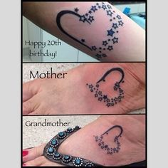 Daughter got it the largest on her underarm, and mother and gran - heatherpilapil