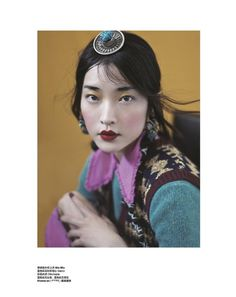 WHISPER OF TIBET (Harper's Bazaar China) by Yin Chao