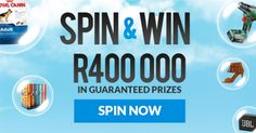 SPIN & WIN - enter your details and stand a chance to win great prizes #ad