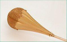 Antique 14k Gold Cannetille Hatpin