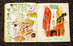 By Sketchbuch on Flickr....    I hope to have memories such as this while I'm there
