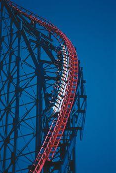Blackpool Uk, Roller Coasters, Ferris Wheel, Roller Coaster