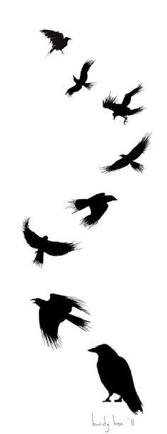 ravens bird art - Yahoo Image Search Results