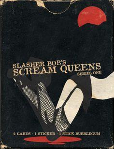 Slasher Bobu0027s Scream Queens Series 1 Digital Trading Cards Pack #horror