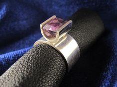 Ring Silber und Amethyst