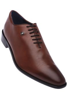 LOUIS PHILIPPE - Mens Brown Leather Formal Lace Up Shoe, S For SHOES, Men | Shoppers Stop By Shoppersstop