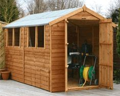 Cheap garden sheds for sale over at houseandhomeshop.co.uk. You can get really cheap sheds under 100 for  extra storage in your garden.