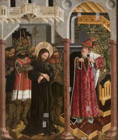 Nicolaus Haberschrack, (1476-1516), Chrystus przed Kajfaszem | Muzeum Narodowe w Krakowi