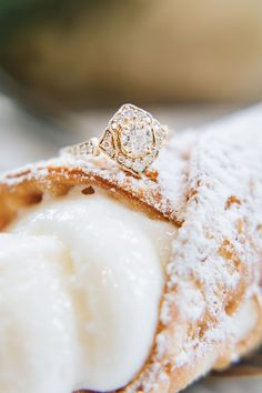 Cannolis, snow, rings, oh my! This winter wedding at Boston City Hall was simply perfect. The bride wore a knee-length lace dress and camel peacoat, the groom rocked a black suit, and they shared a cute clear umbrella to hide from the rain and snow! To warm up, they shared limoncello and cannolis at Caffe Vittoria in the North End of Boston. Rain, shine, wind, snow, Boston is the BEST place to elope! Check out more of Lena Mirisola's epic city elopements. Boston City Hall, Clear Umbrella, Wedding Bands, Wedding Day, City Hall Wedding, Courthouse Wedding, Limoncello, Cannoli, Elopements