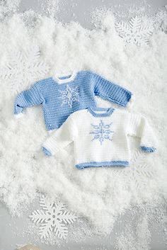 Ravelry: Let It Snow Sweaters pattern by Elena Malo