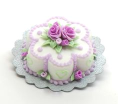 Double flower cake