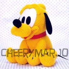 Crochet doll amigurumi PDF pattern  Baby Pluto by cheerymarjo, $6.00