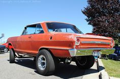 1964 Chevrolet Nova Gasser by The Grace of Function, via Flickr