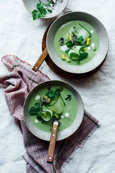 Verde Gazpacho |  Cuidando do TABLE