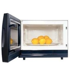 Microwave lemons and limes before squeezing to get more juice out of them.