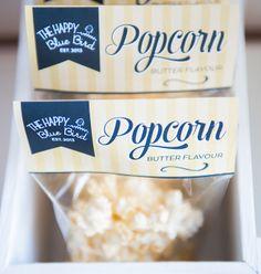 Popcorn Bags/Packaging