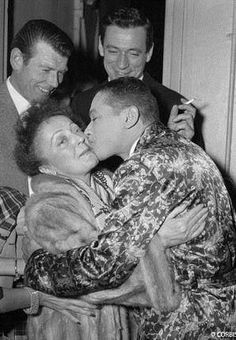 Edith Piaf, Henri Salvador, Yves Montand