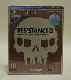 Resistance 3 Special Edtion (Playstation 3) Factory Sealed Russian Rare: $99.99 End Date: Sunday Oct-1-2017 4:48:37 PDT Buy It Now for…