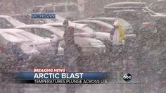 Grand Rapids, MI Snow - ABC World News Tonight - 4/2/16