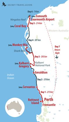 Australia Map, West Coast Australia, Perth Western Australia, Visit Australia, Travel In Australia, Queensland Australia, Brisbane, Melbourne, Sydney
