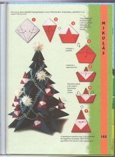 kerstman vouwen
