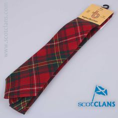 cc9f93496ee5 Pure wool tie in Hay Modern tartan - from ScotClans. ScotClans Clan Shop