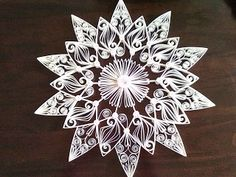 http://creaties-baukje.blogspot.com.au/search/label/Kerststerren Quilling